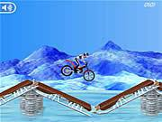 Bike Mania on Ice Game