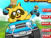 Raccoon Kart Racers Game